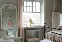Bedroom makeover / Help me design my room! I'm thinking queen bed, one wall painted either light green, or a neutral or a purple...not fully committed to one color scheme yet! Bedroom is a normal sized...maybe the size of Alana's room back home?  / by Briana Bailey