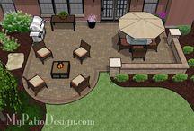 patio! / by Becky Lirette Ellender