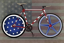 Fourth of July Bikes / by wheel & sprocket