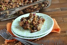 Thanksgiving Bounty / Give thanks for our bounty of healthful Thanksgiving recipes! / by DietsInReview