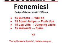 workouts / by Lauren Franklin