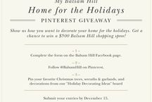 Holiday Decorating Ideas / Create your dream holiday home with these decorating ideas from Balsam Hill. / by Balsam Hill Christmas Tree Co.