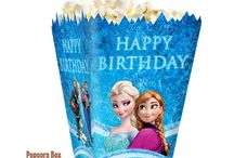 Laila's 5th Birthday Party, Frozen / by Tami Owen