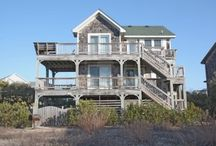 Outer Banks Beach Houses / by AlleyCatshirts Zazzle
