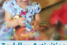 Toddler Activities / by Leah Hanson