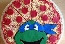 Ninja turttle party! / by Marisela Anaya
