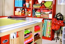 Craft Room Inspiration / by SusieDDesigns