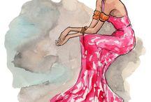 Fashion illustration  / by Kisha Lockner