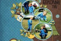 Scrapbooking kids photos / by Margaret Klassen