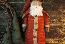 country / primitive Christmas / by Donna Hyland