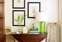Wood White + Green / Interior Design and Decor / by Keeley Powell
