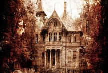 ALL HAUNTED HOUSES / dont you just love them / by Deborah Henderson