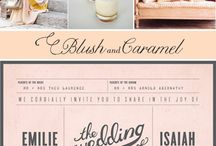 invite inspiration / by Beth Kruse Custom Creations