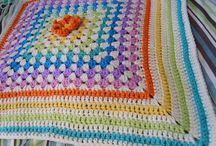 Rainbow crochet / crochet projects in rainbow colours / by Natascha