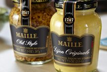 Maille Pantry / Maille products enliven any dish—explore our pantry and get cooking! / by Maille US