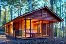 Tiny Homes and Teardrop Campers / by Kelly Firmbach