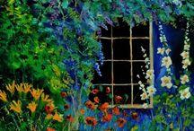 In the garden / by Karin Caspar