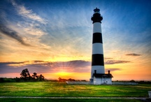 lighthouses / by Belinda Gillespie-Trudeau