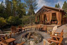 backyard campsite / by Jeanette Hartley
