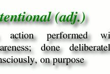 Intentional - my 2014 word of the year / by Diana Donahoo