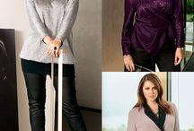 Plus size fashion / Nice cloths for  curvy   girls / by susan mcmillan