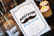Mustache Bash Inspiration / mustache bash, little man party, bow tie extravaganza, baby shower, birthday! Printables by Itsy Belle  / by Christy of Itsy Belle
