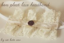 Oh sew pretty Headbands / by Cass Can Sew