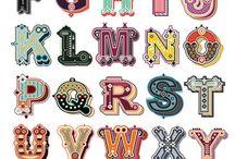 Typography & Lettering / by Rafinha Agostinho
