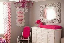 Baby/lLittle Girl Bedrooms & Spaces / by sd camobell