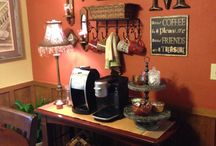 Home: Coffee bar / by Pam Good