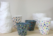 Ceramics - mugs/cups/cannisters / by Jo-Anne Kuter