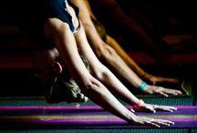 yoga. / by Heidi Wilson