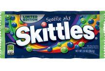"""Skittles """"taste the rainbow"""" / by Marissa"""