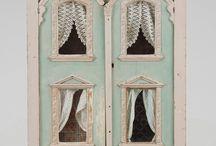 Dollhouse and Miniatures / by Ashley Hackshaw