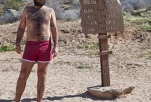 Men's Short but not Spandex Swim Trunks / by Jeremy Thompson