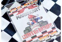 Mario Karts Birthday Party / by Kim @ Plumberry Pie