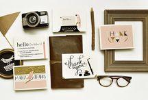 Cards & Branding / by Sarah Vbg