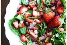 food - salad/dressing/salsa / by Evanne Davies