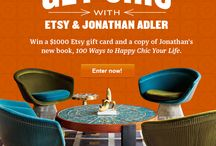 http://pinterest.com/etsy #ETSY ETSY Jonathan Adler #JonathanAdler / by Linda Ann