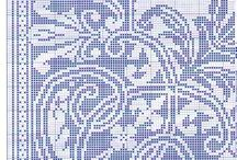 Cross stitch / Crocette, crocette e crocette... xxxxxx / by Edina