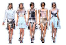 Gingham / Gingham has made a massive comeback for SS14 / by Motel Rocks