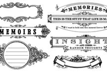 Fonts>Designs>Templates / by Cindi J