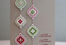 Card Inspiration - Christmas / Handmade Christmas Card Samples / by Beth McAlexander - Card Creations by Beth