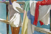 Art - Watercolors / by Deva Andrews