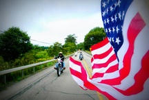 Born in the USA / Red, white, and blue! Follow this board if you are a proud American biker. / by ChopperExchange