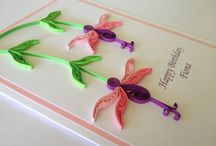 Cards quilled / by Shreya Murti