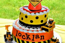 Finn's 2nd Birthday Party. Construction Zone. Caution: Now Entering the Terrible Twos! / by Theresa McNesby Martin