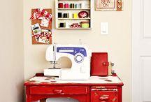 Sewing room / by Harpreet Kaur