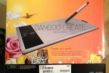 Wacom Bamboo Create / by Barbara's CreativeTouch