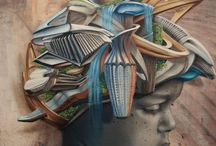 GRAFITTI, STREET ART,MANHOLE COVERS & STORM DRAINS / by Jo Witney